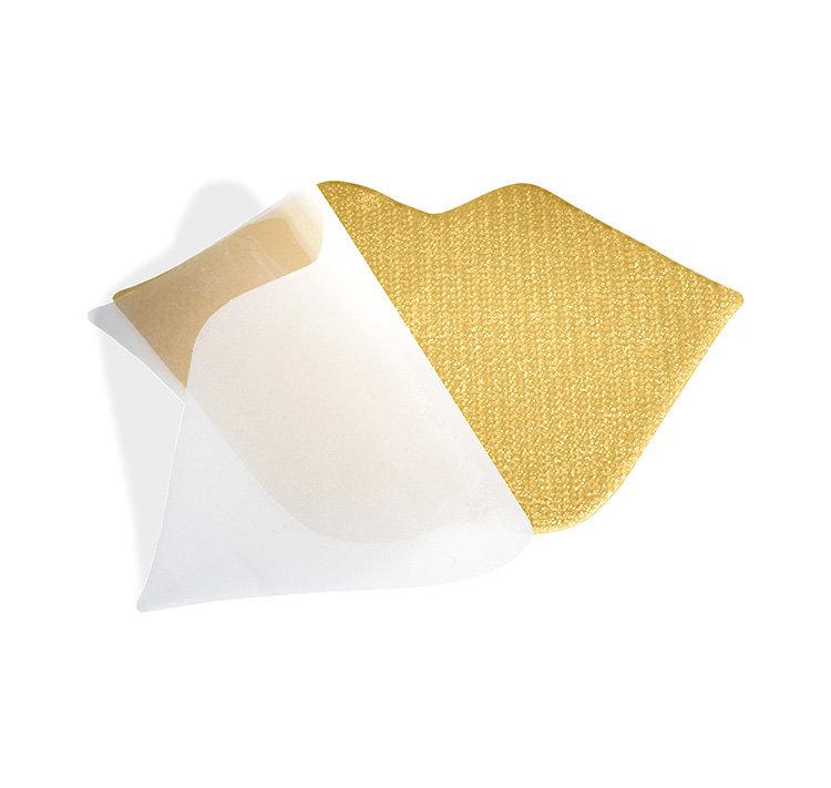 JAUNUMS! Hydrogel Gold Lip Mask - hidrogēla zelta maskas lūpām 2gab.
