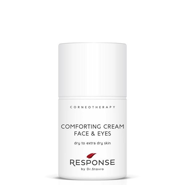 Dienas un nakts krēms sausai un ļoti sausai sejas ādai un acu zonai RESPONSE by Dr. Stavro Comforting Cream Face & Eyes, 50 ml