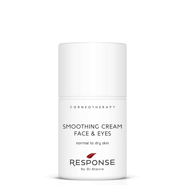 Dienas un nakts krēms normālai un sausai sejas ādai un acu zonai  RESPONSE by Dr. Stavro Smoothing Cream Face & Eyes, 50 ml